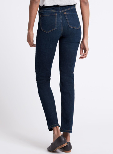 Marks & Spencer Jean Pantolon Mor